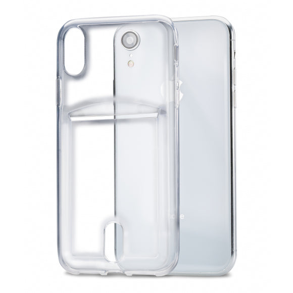 Xccess TPU Card Case Apple iPhone XR Transparent Clear