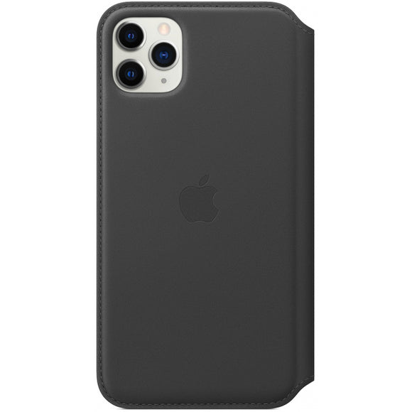 MX082ZM/A Apple Leather Folio Case iPhone 11 Pro Max Black