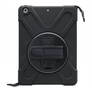 Xccess Survivor All-round Case Apple iPad 10.2 (2019)/10.2 (2020) Black (Screenless)