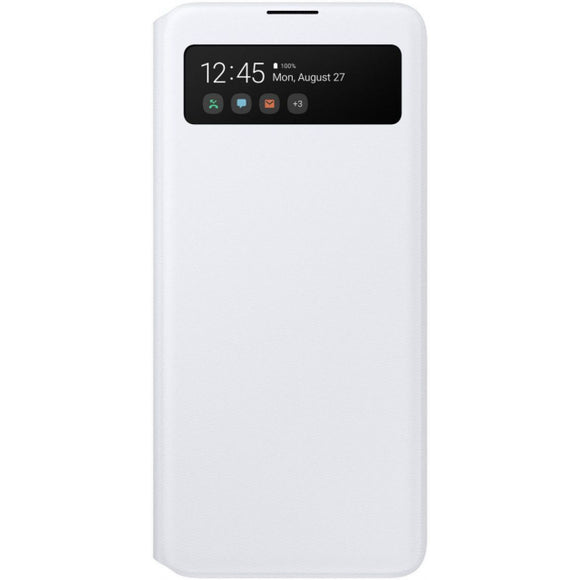 EF-EA715PWEGEU Samsung S View Wallet Cover Galaxy A71 White
