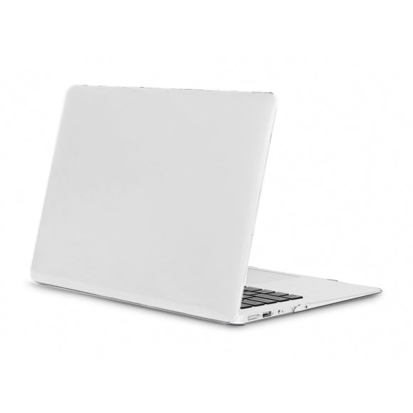 Xccess Protection Cover for Macbook Air 13inch A1369/A1466 (2010-2019) Matt White