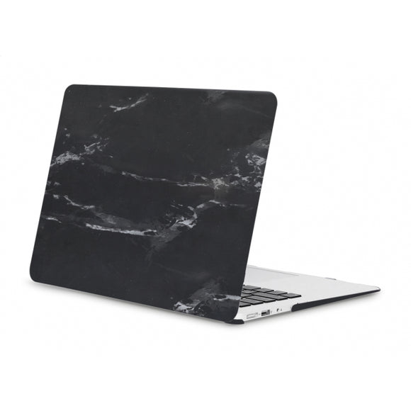 Xccess Protection Cover for Macbook Air 13inch A1369/A1466 (2010-2019) Black Marble