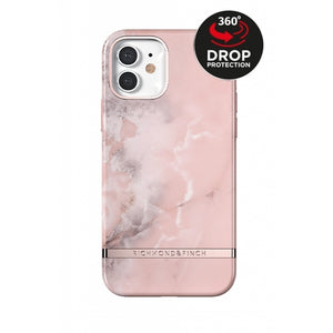 Richmond & Finch Freedom Series One-Piece Apple iPhone 12/12 Pro Pink Marble