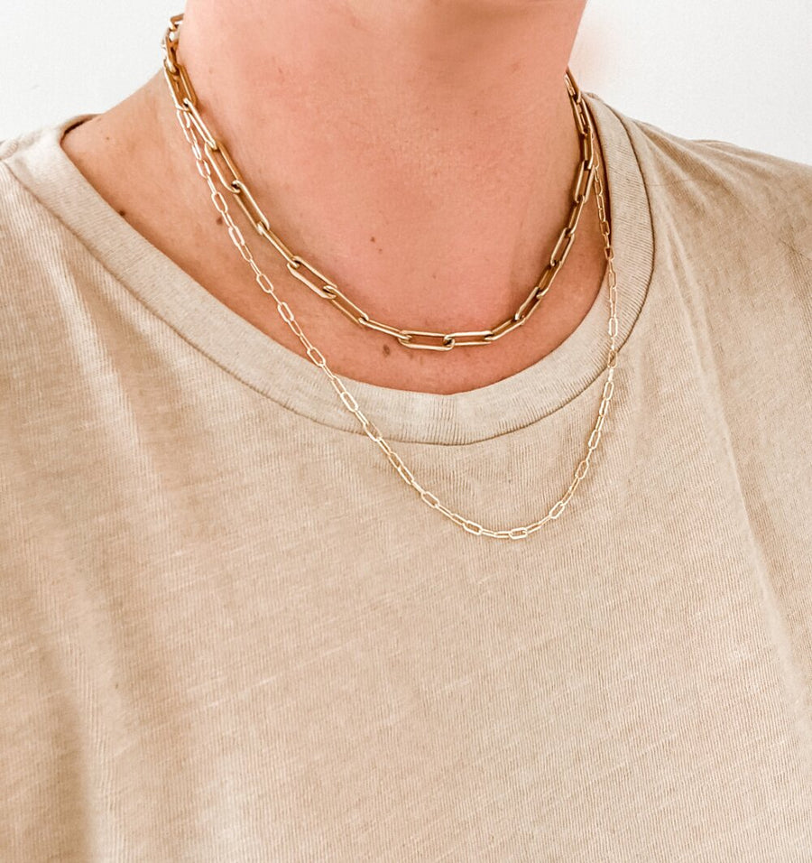 JULIA CHAIN SOLID 14K