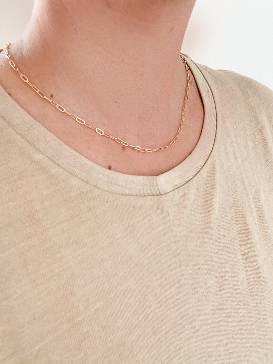 THE JENNI MINI RECTANGLE CHAIN