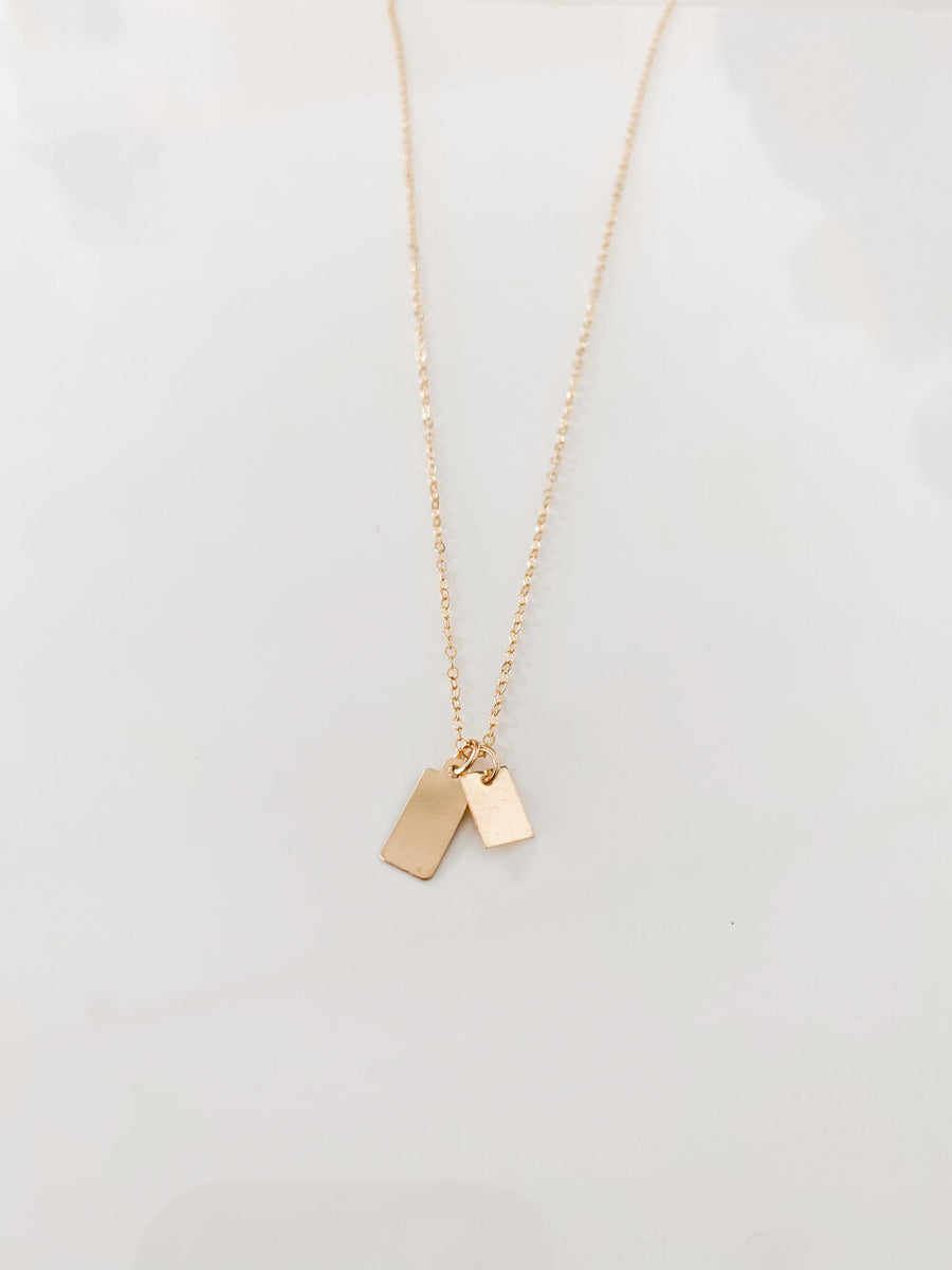 MINI RECTANGLES NECKLACE