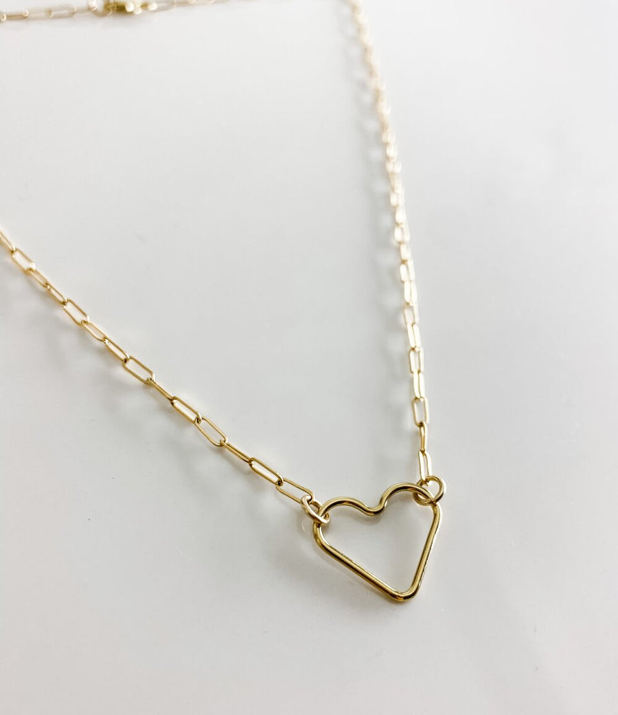 HAYLEY HEART NECKLACE