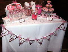 candy buffet for 12 - How Cute Is That?