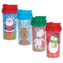 Kid's Holiday Tumblers