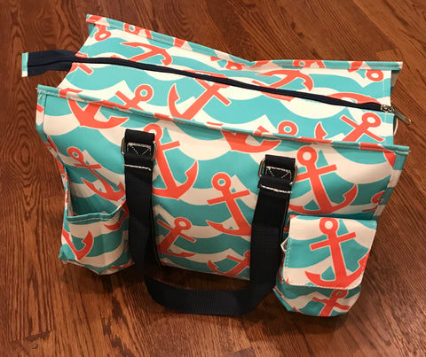 Utility Tote Bag - Anchors Away