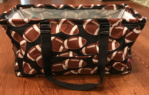 Utility Tote Bag - Football Design
