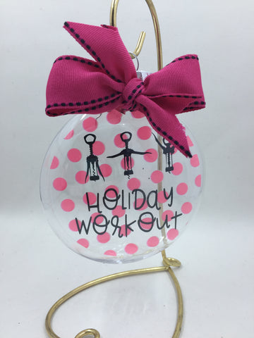 Ornament - Holiday Workout