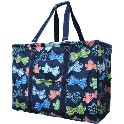 Utility Tote Bag - Bow Tie