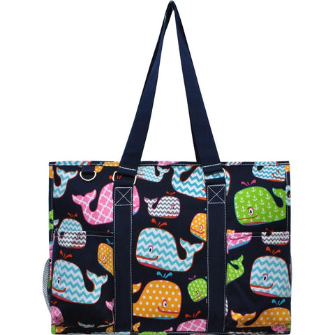 Utility Tote Bag - Whale