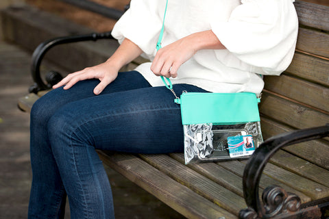 Clear Purse - Mint