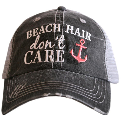 Beach Hair Don't Care Hat