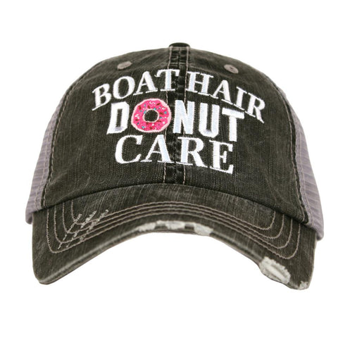 Boat Hair Donut Care Hat