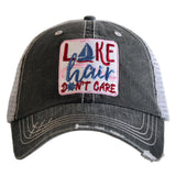 Lake Hair Don't Care Sailboat hat