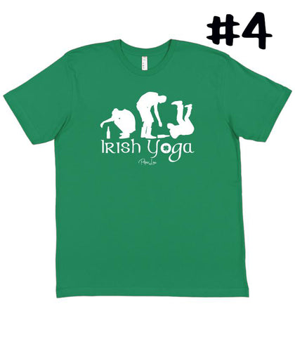 Irish Yoga Tshirt