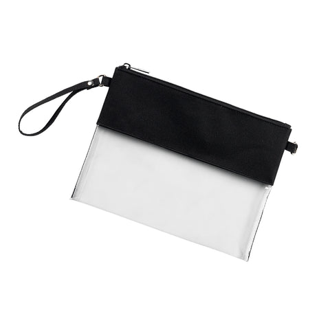 Clear Purse - Black  *Limited stock, Avail End of Sept!