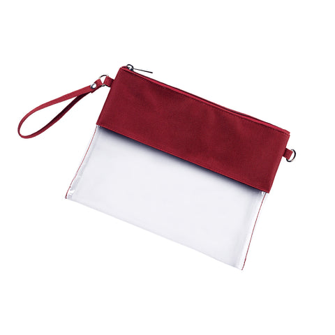 Clear Purse - Garnet *SOLD OUT AVAILABLE END OF NOVEMBER