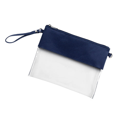 Clear Purse - Navy *Limited stock, Avail End of Sept!