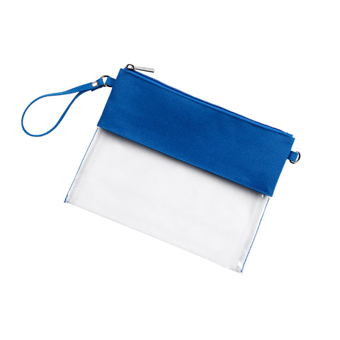 Clear Purse - Royal Blue *ONLY 5 LEFT!