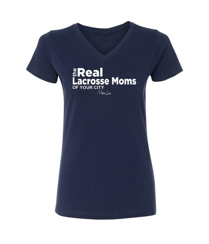 The Real Lacrosse Moms of Moeller short sleeve t-shirt