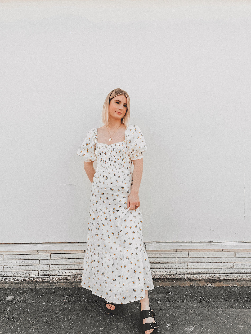 Faithfull The Brand - Gianna Midi Dress / Floral Print
