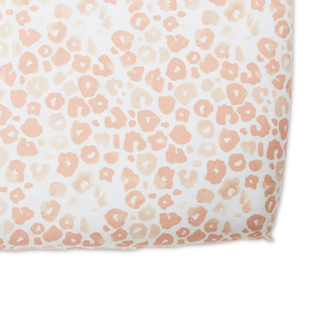 Crib Sheet - Poppy Blush