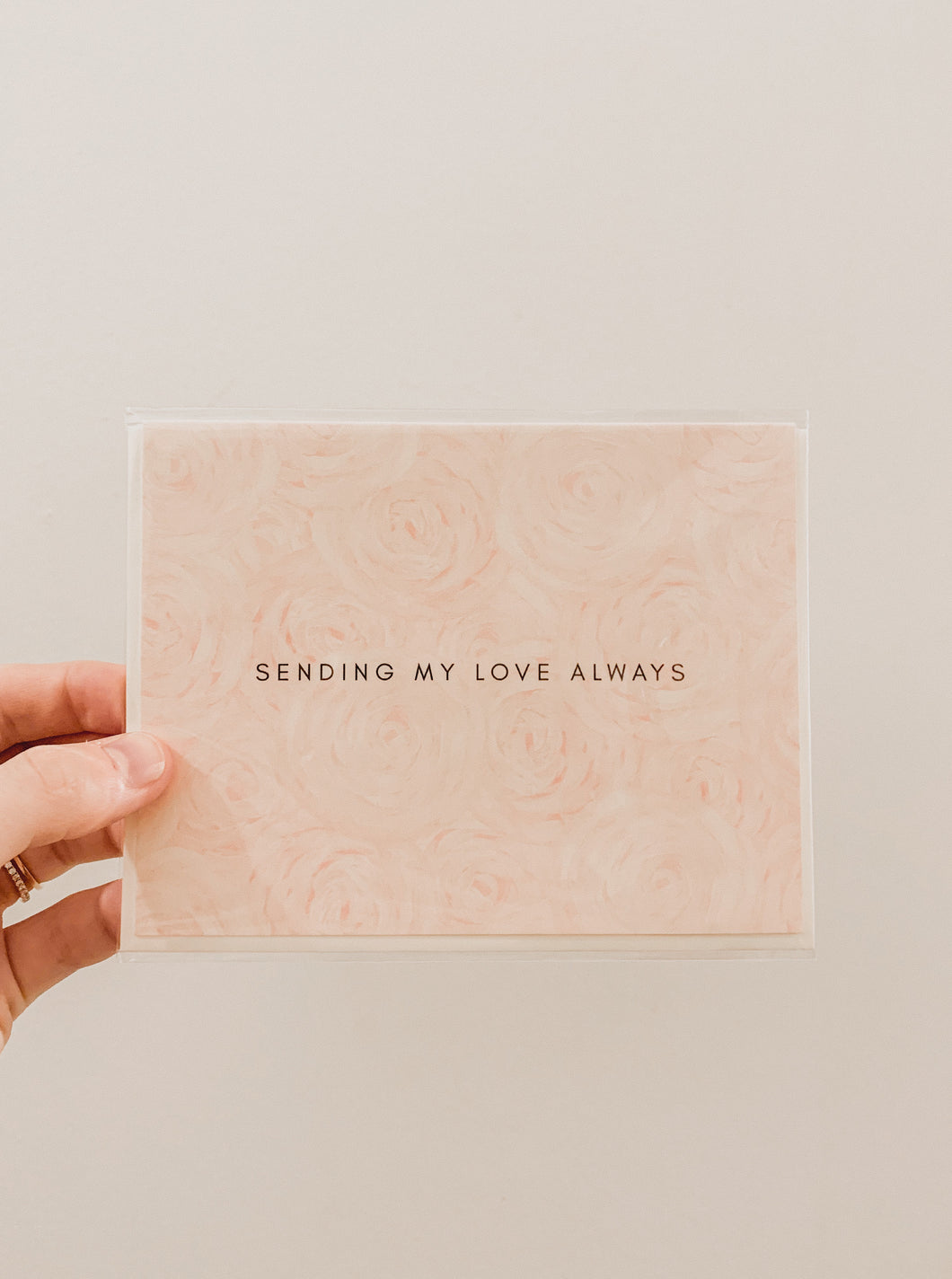 Card - Sending My Love Always