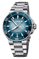 Oris Lake Baikal Limited Edition Blue 43.5 mm Dial Automatic Watch with Stainless Steel Band for Men