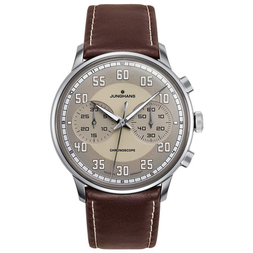 Junghans Analog Grey Dial Men's Watch