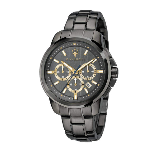 Maserati Analog Black Dial Men's Watch