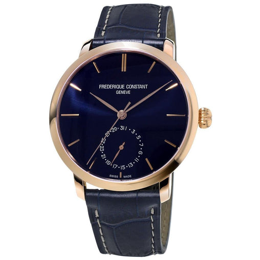 Frederique Constant Slimline Mens Automatic Date Wrist Watch Analog