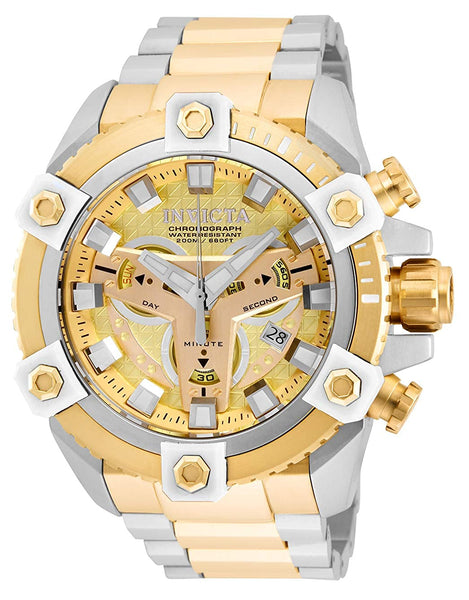 Invicta Men's Coalition Forces Quartz Watch with Stainless Steel Strap, Two Tone
