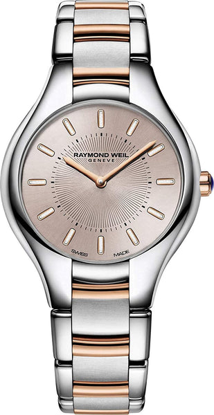 Raymond Weil Analog Rose Gold Dial Women's Watch