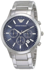Emporio Armani Men's Renato Stainless Steel Dress Watch with Quartz Movement