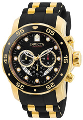Invicta Pro Diver - Scuba Men's Wrist Watch Stainless Steel Quartz Black Dial