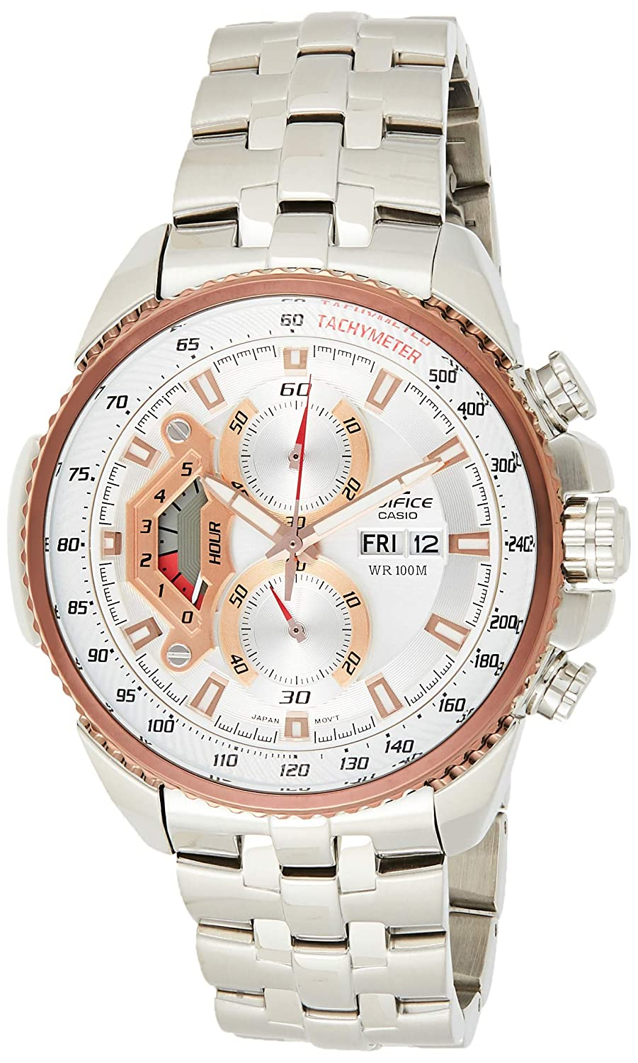 Casio Edifice Tachymeter Chronograph Multi-Color Dial Men's Watch