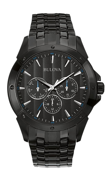 Bulova Classic Analog Black Dial Men's Watch