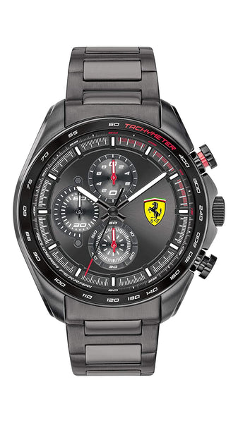 Scuderia Ferrari Speedracer Chronograph Black Dial Men's Watch