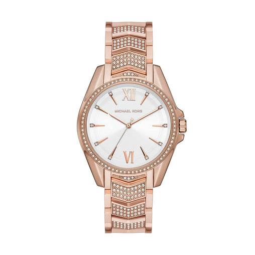 Michael Kors Whitney Analog White Dial Women's Watch