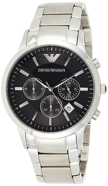 Emporio Armani Classic Analog Black Dial Men's Watch