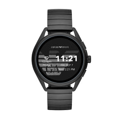 Emporio Armani Matteo Digital Black Dial Men's Watch