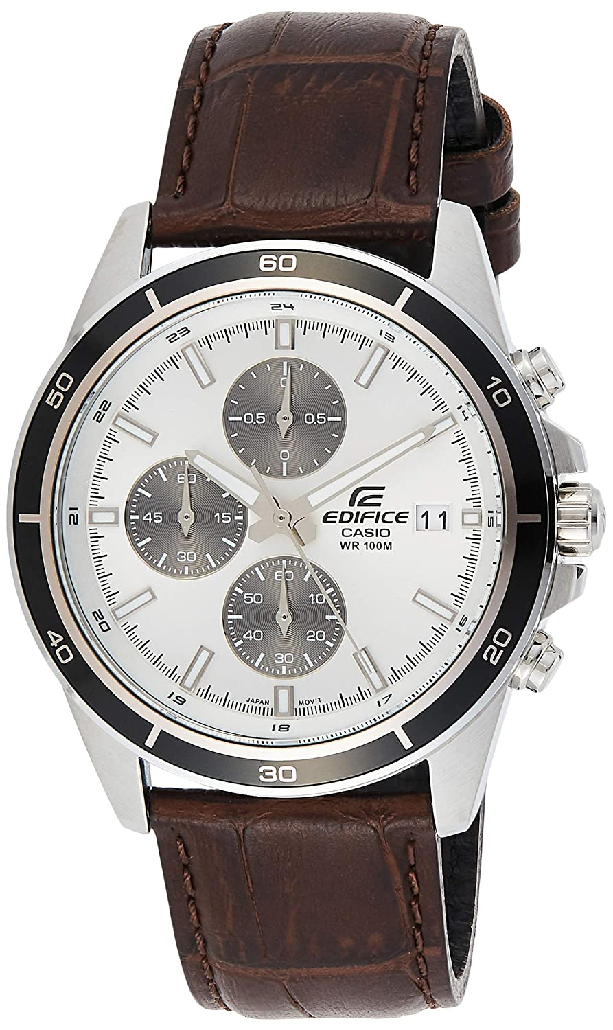 Casio Edifice Chronograph White Dial Men's Watch