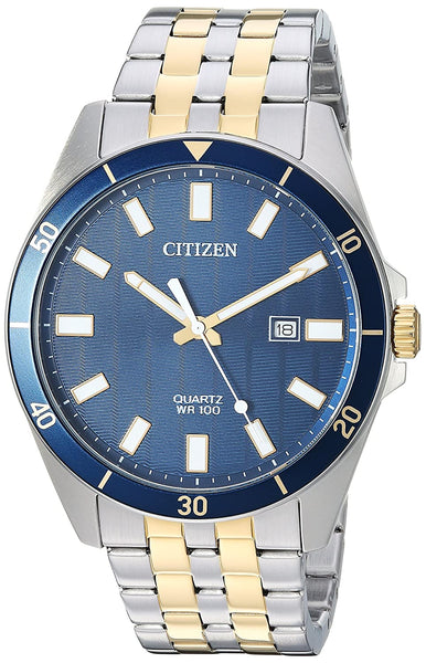 Citizen Quartz Movement Analogue Blue Dial Men's Watch