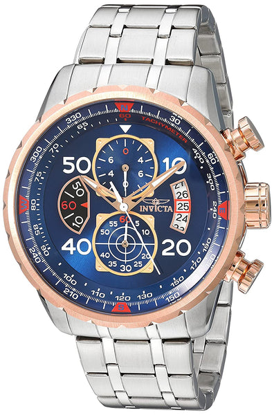 Invicta Chronograph Blue Dial Men's Watch
