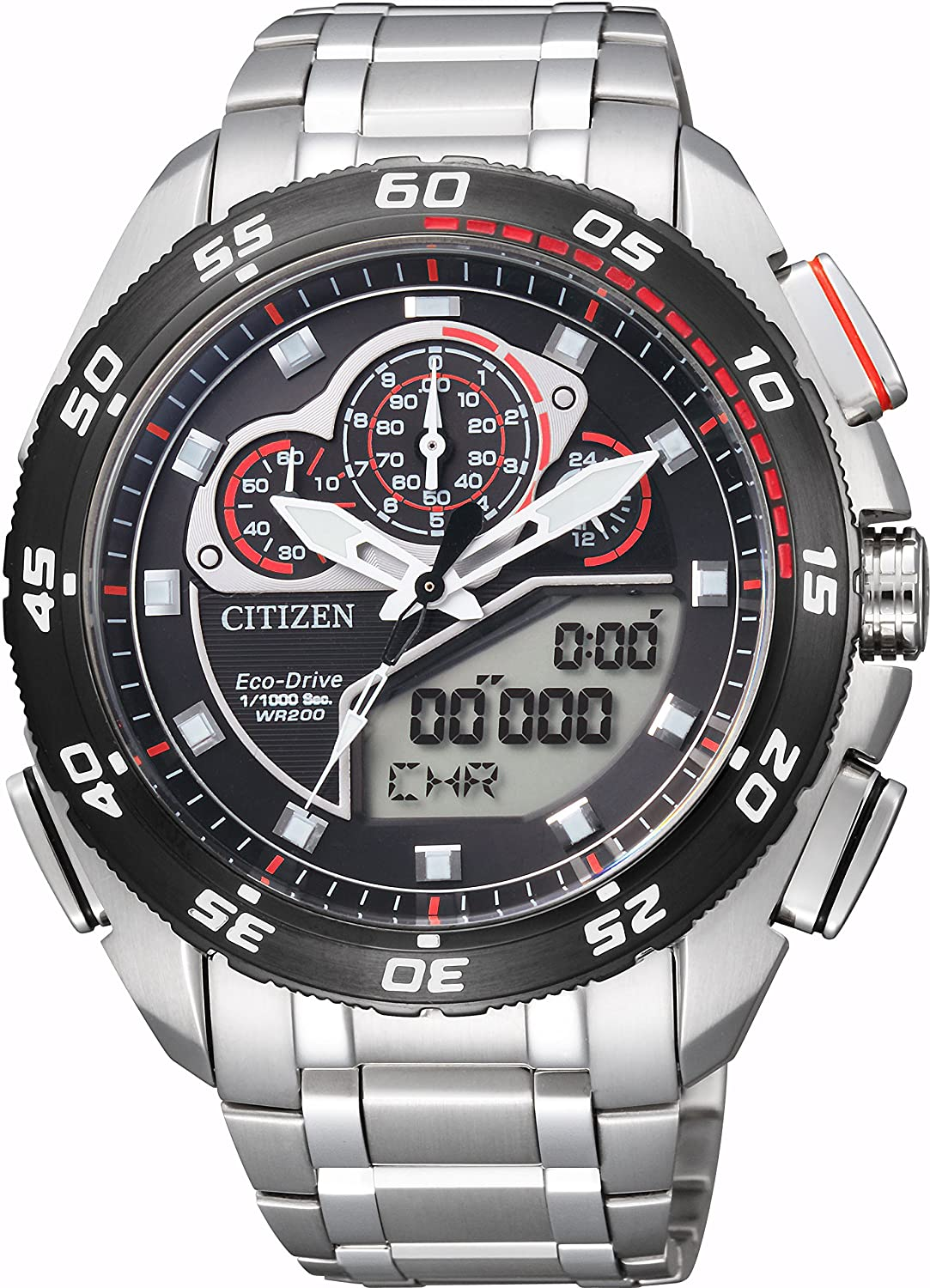 Citizen Promaster Eco-Drive Land - Super Chronograph Men's Watch