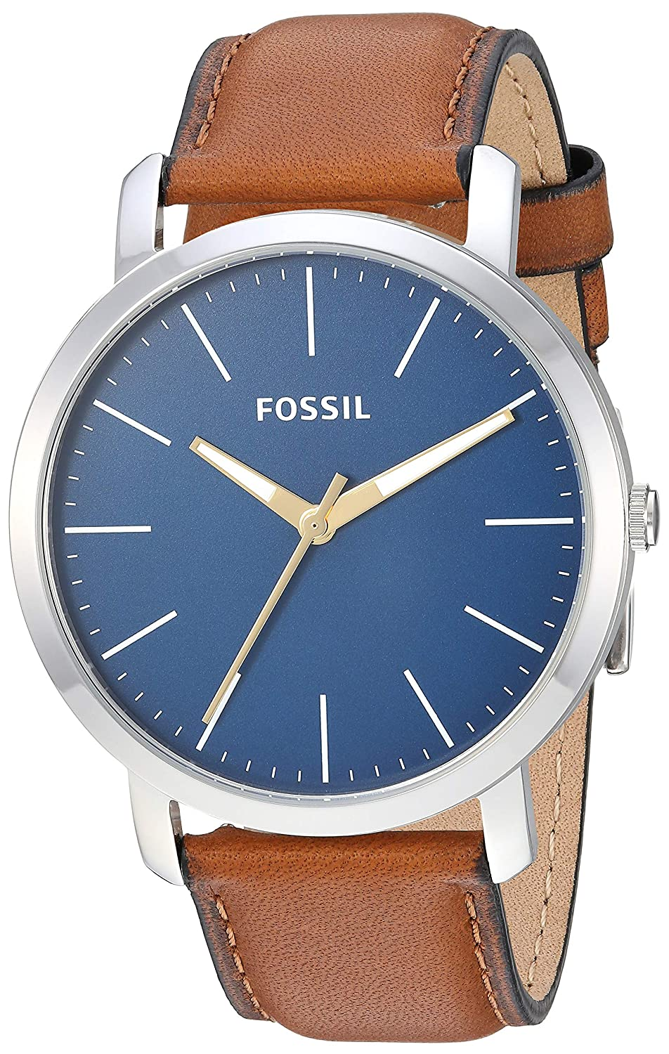 Fossil Analog Blue Dial Men's Watch